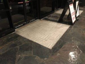 small entry mat